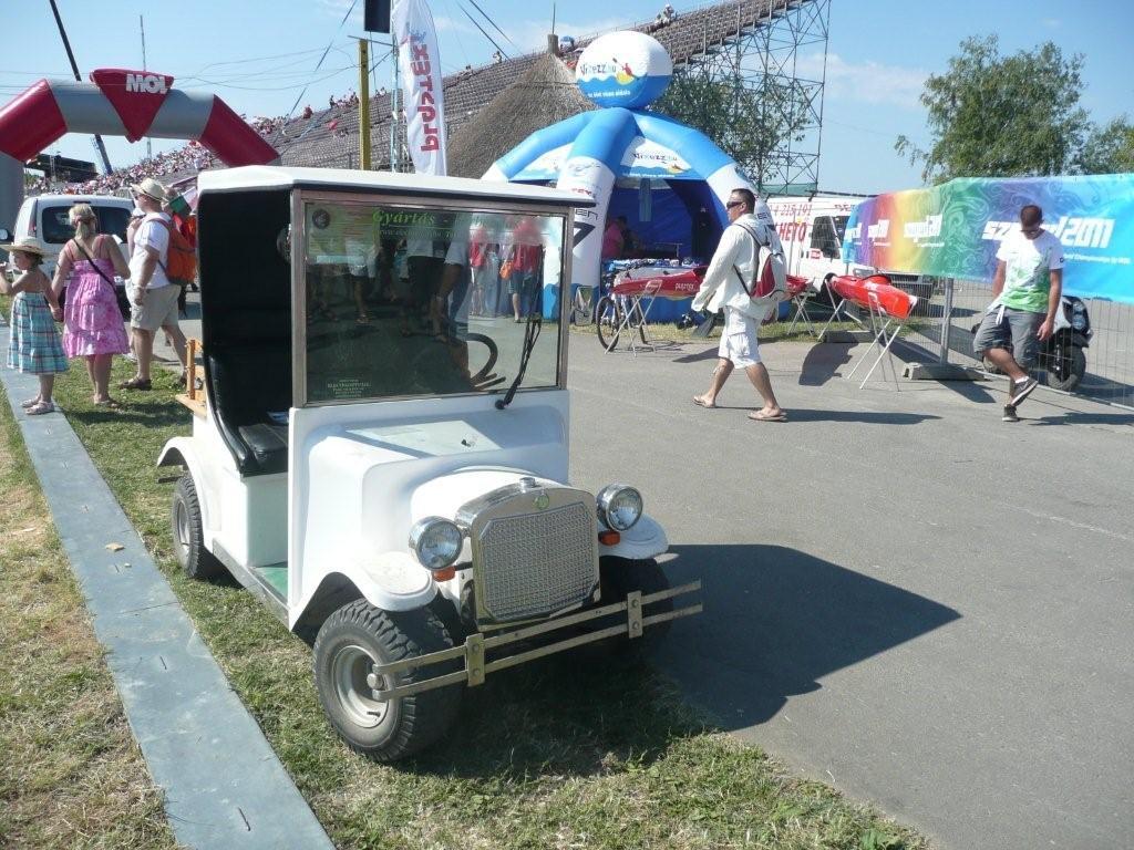 Elektromos autók a Szegedi Kajak-Kenu Világbajnokságon 2011